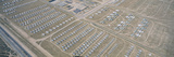 Aerial View of Bone Yard, F4 Fighter Aircraft at Montham Afb, Tucson, Arizona Photographic Print