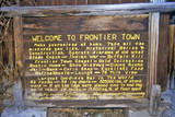 Frontier Town in Helena, Mt Photographic Print