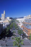 The Santa Monica Mall, 3rd Street Promenade in Santa Monica, California Photographic Print