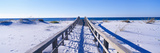 Boardwalk at Santa Rosa Island Near Pensacola, Florida Photographic Print