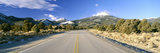 Road to Great Basin National Park, Nevada, in February Photographic Print
