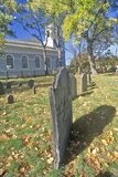 Christ Church Cemetery, Cambridge, Massachusetts Photographic Print