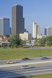 State Capital and Skyline in Little Rock, Arkansas Photographic Print