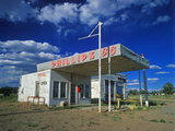 Phillips 66 Gas Station Along Historic Route 66, AZ Photographic Print