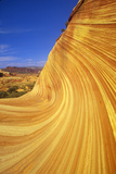 Close Up of Sandstone Stripes, 'The Wave' on Kenab Coyote Butte, Blm, Slot Canyon, Ut Photographic Print
