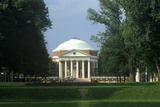Exterior of Rotunda at University of Virginia Designed by Thomas Jefferson, Charlottesville, VA Photographic Print