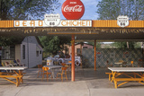 Roadside Diner on Historic Route 66, Seligman, AZ Photographic Print