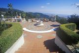 Main Terrace at Casa Grande, Hearst Castle, San Simeon, Central Coast, California Photographic Print
