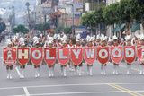 St. Patrick's Day Parade on Hollywood Blvd., Los Angeles, California Photographic Print