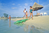 Fun on the Beach at Hawk's Cay Resort, Key West, Florida Photographic Print