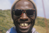 A Gap-Toothed African-American Man Smiling, San Francisco, CA Photographic Print