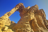 Sandstone Formation Called Elephant Rock in Valley of Fire State Park, NV Photographic Print