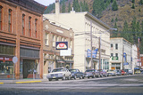 Business District of Wallace, ID Photographic Print