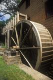 Water Wheel at Colvin Run Grist Mill, Fairfax, VA Photographic Print