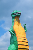 Dinosaur Roadside Attraction, Pigeon Fork, Tn - Fotografik Baskı