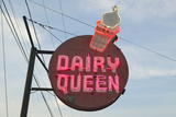 Dairy Queen Ice Cream Shop in Central Ga Along Highway 22 in Southeast USA Photographic Print