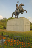 Andrew Jackson Statue and Jackson Square in New Orleans, Louisiana Photographic Print