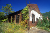 Abandoned Building with Broken Windows on Highway US Route 60, WVA Photographic Print