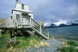 Home on Stilts on Water, Seward, Alaska Photographic Print