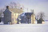 Home Covered in Snow, East Coast Photographic Print