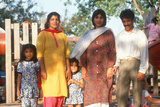 A Pakistani Family, Chicago, IL Photographic Print