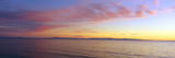 Channel Islands and Pacific at Sunset, Ventura, California Photographic Print
