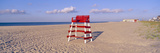 Lifeguard Chair at the Beach in Morning, Cape May, New Jersey Photographic Print