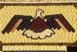 Detail of Mosaic on Corn Palace, Roadside Attraction in West Mitchell, Sd Photographic Print
