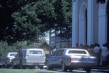Hearse at a Funeral, St. Martinville, La Photographic Print