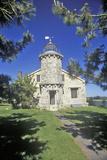 The Stonington Lighthouse and Old Lighthouse Museum, Stonington, Connecticut Photographic Print