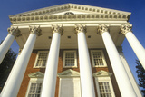 Columns on Building at University of Virginia Inspired by Thomas Jefferson, Charlottesville, VA Photographic Print