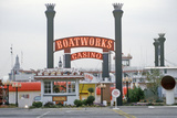 Boatworks Casino, Rock Island, Illinois Photographic Print