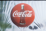 The Coca Cola Logo Photographic Print