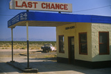 Last Chance Full Service Gas Station Route 395, CA Photographic Print