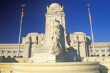 Christopher Columbus Statue at Union Station, Washington, DC Photographic Print