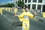 Geisha Dancers at the 49th Nisei Week Parade in Little Tokyo, Los Angeles, CA Photographic Print