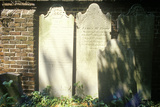 Headstones in the Old South Historic District, Charleston, Sc Photographic Print