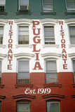 Exterior of Puglia Restaurant in Little Italy, New York City, NY Photographic Print