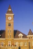 Clocktower on Washington County Courthouse, Fayetteville, Ar Photographic Print