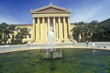 Entrance to the Philadelphia Museum of Art, Philadelphia, PA Photographic Print