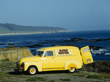 Bright Yellow Truck Along Pacific Coast Highway, California Photographic Print