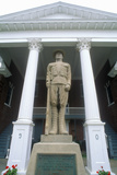 Statue in Front of Petersburg Courthouse on US Route 55, Petersburg, VA Photographic Print