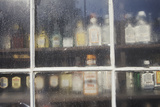 Liquor in a Storefront Window, Stockbridge, MA Photographic Print