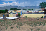 An Indian Taco Stand Photographic Print