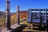 Antique Gas Pumps, Bodie, CA Photographic Print