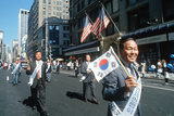 Korean Day Parade on Lower Broadway, Ny City Photographic Print