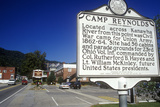 Sign at Entrance of Camp Reynolds, on Scenic Highway US Route 60, WV Photographic Print