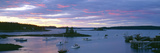 Sunset at Port Clyde Lobster Village Harbor, Maine Photographic Print