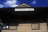 Harpers Ferry Train Station, WV Photographic Print