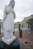 Catholic Shrine with Madonna at the Site of the Bombing of the Federal Building, Oklahoma City, Ok Photographic Print
